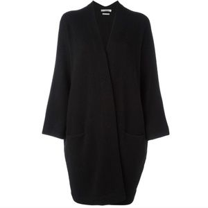 Vince Drop Shoulder Cashmere Open Front Cardigan